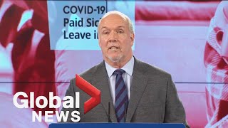 EUROPESE OMROEP | OPENN  | BC introduces sick pay legislation to fill gaps in federal program | FULL