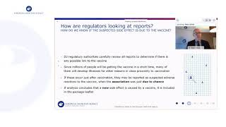 EUROPESE OMROEP | OPENN  | EMA Public stakeholder meeting: Vaccines safety monitoring update on emerging data EU authorizations