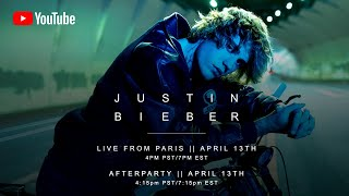 EUROPESE OMROEP | OPENN  | Justin Bieber - Live from Paris (Livestream)