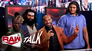 EUROPESE OMROEP | OPENN  | Jinder Mahal introduces Veer and Shanky to the WWE Universe: Raw Talk, May 10, 2021