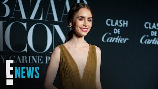 EUROPESE OMROEP OPENN Lily Collins Is Engaged! See Her