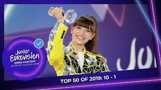 EUROPESE OMROEP OPENN TOP 50: Most watched in 2019: 10