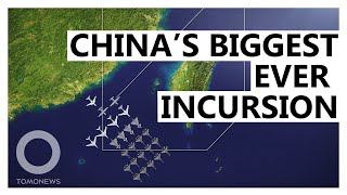 EUROPESE OMROEP OPENN China Sets Record for Incursions Into