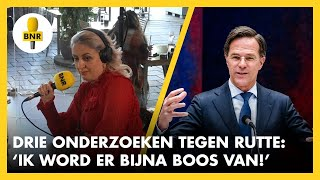 EUROPESE OMROEP | OPENN  | Gaat MARK RUTTE drie parlementaire enquetes overleven? 'Ik word er BOOS van' | The Friday Move