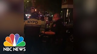 EUROPESE OMROEP OPENN Bystander Video Shows NYPD Office