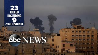 EUROPESE OMROEP | OPENN  | Violence escalates between Palestinians, Israelis in Middle East l ABC News