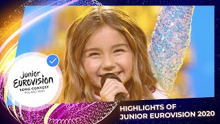 EUROPESE OMROEP | OPENN  | Highlights of the Junior Eurovision Song Contest 2020
