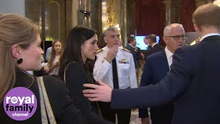 EUROPESE OMROEP | The Royal Family Channel | 'Meg, Meg!!' Prince Harry tries to get Meghan Markle's attention | 1524320992 2018-04-21T14:29:52+00:00