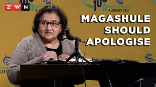 EUROPESE OMROEP | OPENN  | Jessie Duarte: ANC NEC's decision is that Magashule should apologise