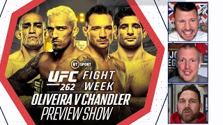 EUROPESE OMROEP | OPENN  | Fight Week: UFC 262 Preview Show | Oliveira v Chandler | Who will take Khabib's crown?