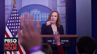 EUROPESE OMROEP | OPENN  | WATCH LIVE: Jen Psaki holds White House news briefing