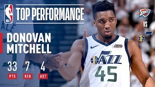 EUROPESE OMROEP | NBA | Donovan Mitchell Leads Jazz To Game 4 Victory With 33 Points | 1524548365 2018-04-24T05:39:25+00:00