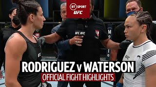 EUROPESE OMROEP | OPENN  | Marina Rodriguez v Michelle Waterson | Official Fight Highlights
