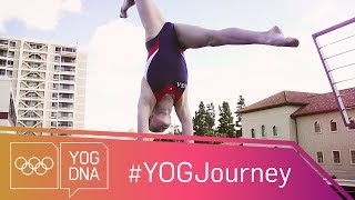 EUROPESE OMROEP | Youth Olympic Games | Diving Training with Sophie McAfee [USA] #YOGJourney | 1522947719 2018-04-05T17:01:59+00:00
