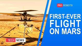 EUROPESE OMROEP | OPENN  | First controlled flight to Mars | Aerotaxi | Construction robots | Technology news