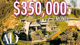 EUROPESE OMROEP | OPENN  | Inside A $350K Per Month Mountainside Resort Mansion | On The Market | Architectural Digest