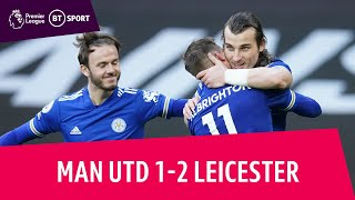 EUROPESE OMROEP | OPENN  | Man Utd vs Leicester (1-2) | Foxes' Victory Seals Man City's Title Win! | Premier League Highlights