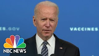 EUROPESE OMROEP | OPENN  | Biden On CDC Direction of Pfizer Covid Vaccine For Kids 12 & Up