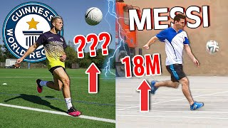 EUROPESE OMROEP | OPENN  | How Difficult is Lionel Messi's World Record? - Can We Break Records without Practice?