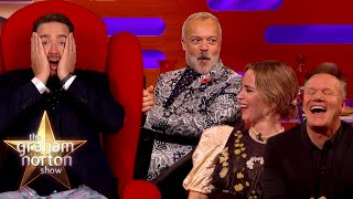 EUROPESE OMROEP | OPENN  | Season 28's BEST Red Chair Stories | The Graham Norton Show Part One