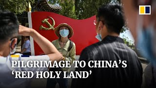EUROPESE OMROEP | OPENN  | Visitors mark Chinese Communist Party centenary with pilgrimage to 'Red Holy Land'