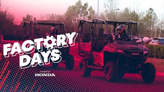 EUROPESE OMROEP | OPENN  | Factory Days With Max And Checo | Powered By Honda