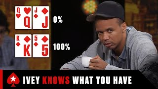 EUROPESE OMROEP | OPENN  | TOP 3 Reasons Why Phil Ivey is the MOST FEARED Poker Player ♠️ Best Poker Moments ♠️ PokerStars