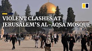 EUROPESE OMROEP | OPENN  | Hundreds injured in violent clashes between Israeli police and Palestinians near Al-Aqsa mosque