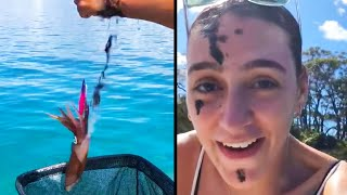 EUROPESE OMROEP OPENN Baby Moose Saved From Drowning In Lake