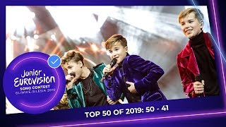 EUROPESE OMROEP OPENN TOP 50: Most watched in 2019: 50