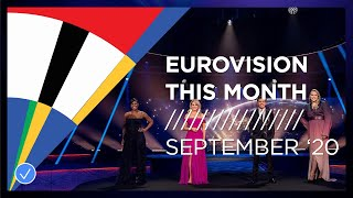 EUROPESE OMROEP OPENN Eurovision This Month: September