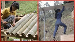 EUROPESE OMROEP | OPENN  | Skillful Woman Builds Off-Grid Cabin That is Self-Powered