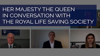 EUROPESE OMROEP | OPENN  | The Queen in conversation with the Royal Life Saving Society