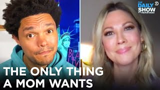 EUROPESE OMROEP | OPENN  | What Do Moms Really Want for Mother's Day This Year? | The Daily Show
